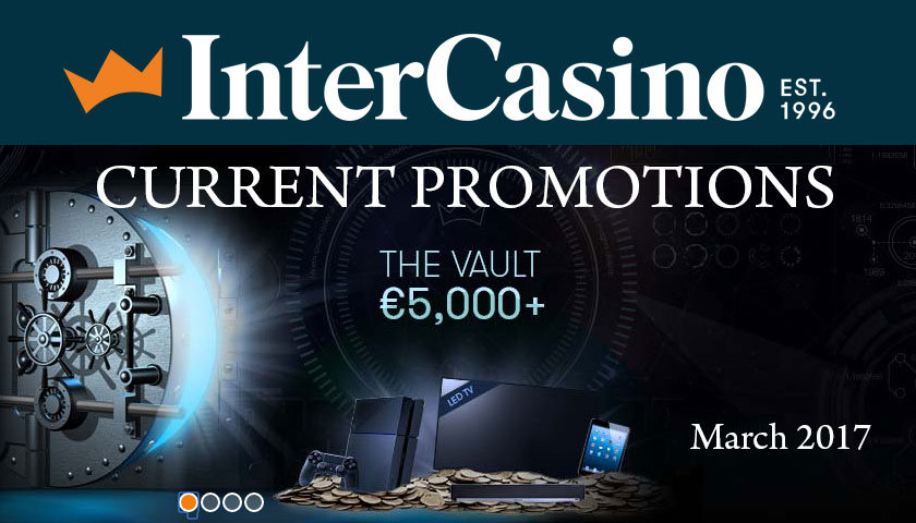 InterCasino Vault Promotion