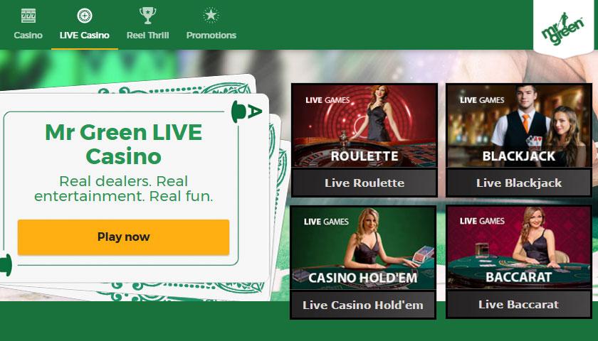 Live Online Casino Games | Live.Casino.com