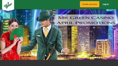 Mr Green Casino April Promotions