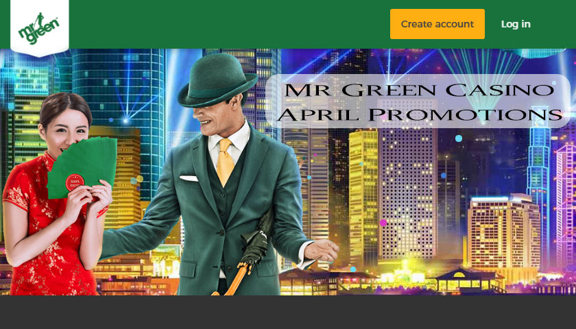 Mr Green Casino April Promotions