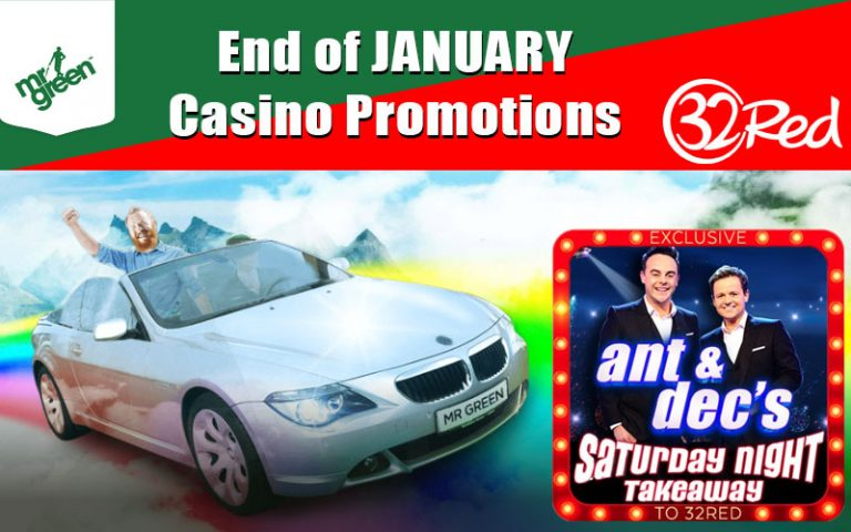 January Casino Promottions