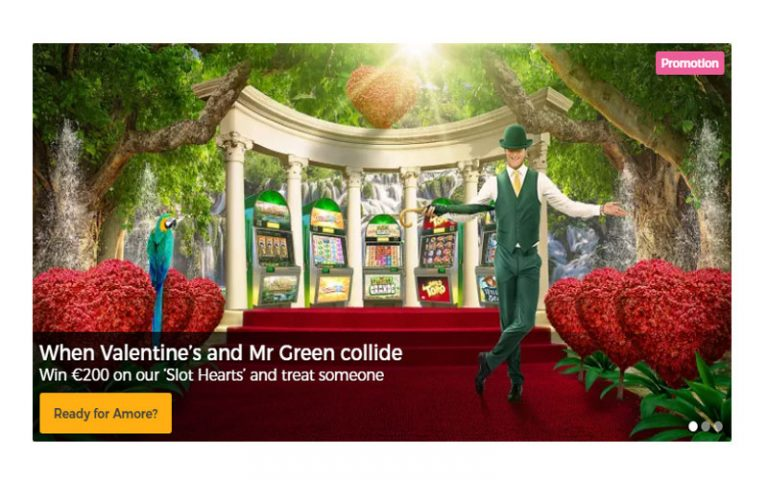 Mr Greens Valentine's Promotions