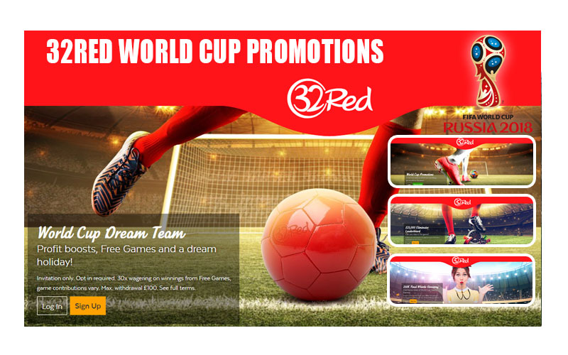 32Red World Cup Promotions