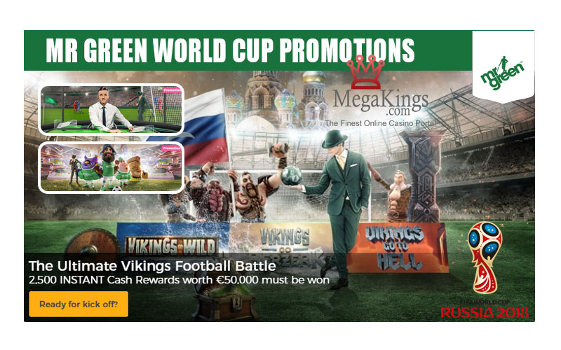 Mr Green World Cup Promotions