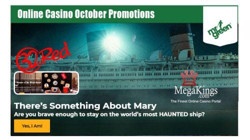 Online Casino October Promotions