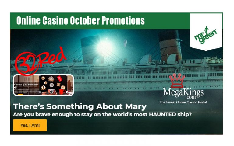 Online Casino October Promotions