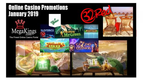 Online Casino Promotions January 2019