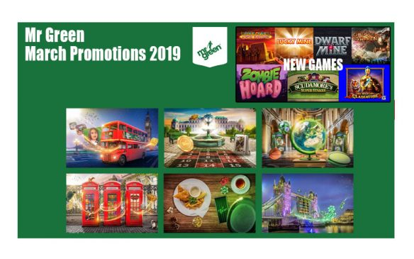 Mr Green March Promotions 2019